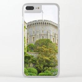 Majestic Windsor Castle Clear iPhone Case