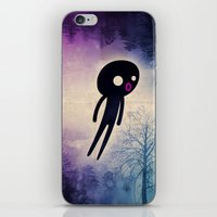 onesie iPhone & iPod Skins featuring omino_ solitario by Marco Puccini