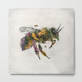Must be the honey Metal Print