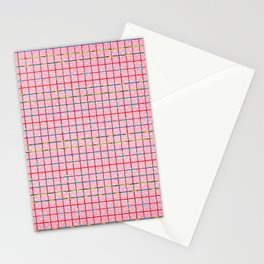 Bubblegum and Confetti Pattern Stationery Cards