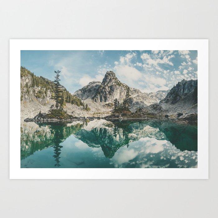 Watersprite Lake Art Print