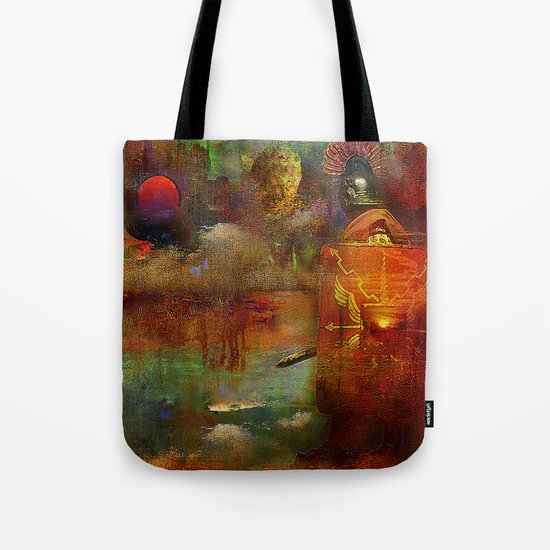 The fall of the Roman Empire Tote Bag