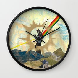 Reaching to Enlightenment Wall Clock