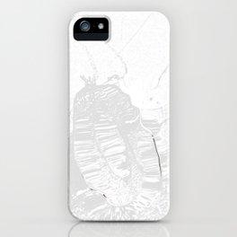 Heart in peace iPhone Case