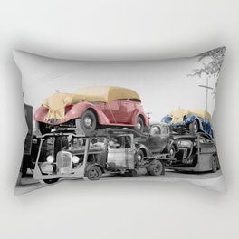 Vintage Car Carrier Rectangular Pillow