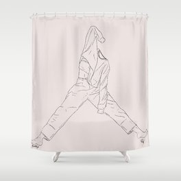 Stretch Shower Curtain