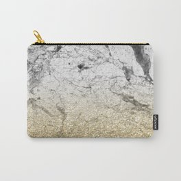 Amalfi golden ombre marble Carry-All Pouch