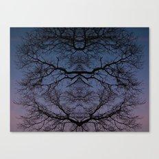 Symmetree Canvas Print