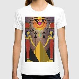 Hathor under the eyes of Ra -Egyptian Gods and Goddesses T-shirt