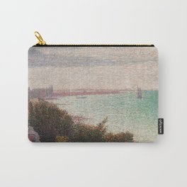 "Georges Seurat ""Grandcamp, un soir"" Carry-All Pouch"