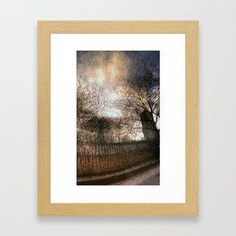 Vessey Street Sunset Framed Art Print