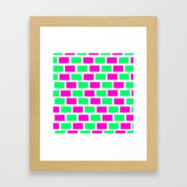 pattern  color Framed Art Print
