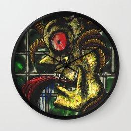 Paranoid Figure of War Wall Clock