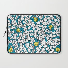 Snail Mail Turquoise Laptop Sleeve
