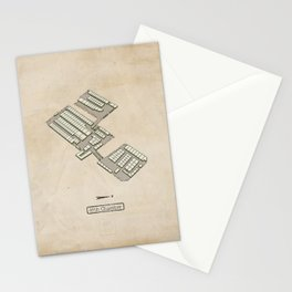 Treasure Map - 45th Chamber Stationery Cards
