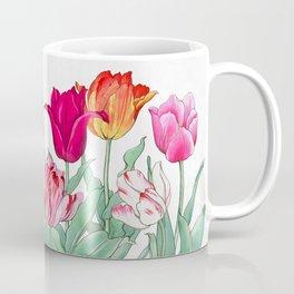 Tulips garden Coffee Mug