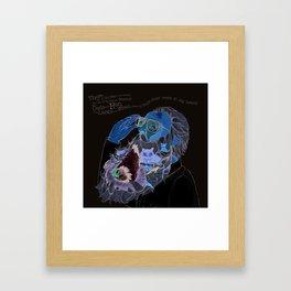 Old Man With a beard Framed Art Print