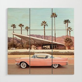 Palm Springs Wood Wall Art