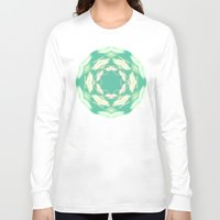 lights Long Sleeve T-shirts featuring Lights by La Señora