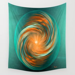 The energy of joy Wall Tapestry