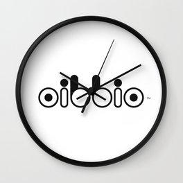 Oibbio Logo Wall Clock