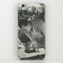 """""""Attention"""" iPhone Skin"""