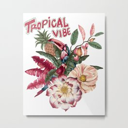 tropical vibe Metal Print