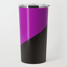purple anarchy flag feminism symbol Travel Mug