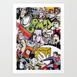 Pop Art Comix Art Print