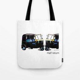 Half Return Tote Bag