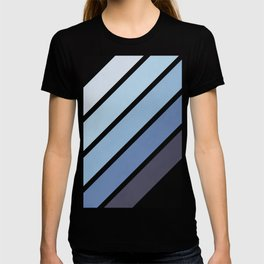 Blue Color Drift T-shirt