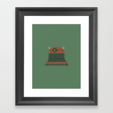 Exterminate (Doctor Who) Framed Art Print