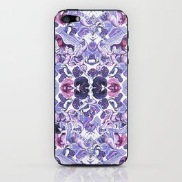 Horse Print Purple Pastel iPhone Skin