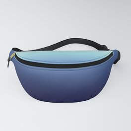 Nautical Blue Ombre Fanny Pack