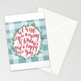 Merry Christmas & Happy New Year Stationery Cards