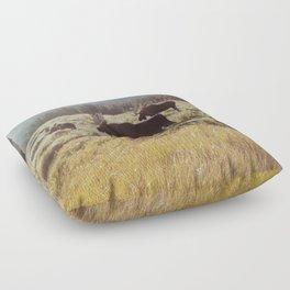 Three Meadow Moose Floor Pillow