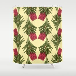 PROTEA IN FLAVESCENT Shower Curtain