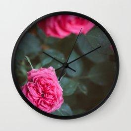 Roses blossom Wall Clock