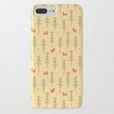 Fox hiding in the forest Slim Case iPhone 7 Plus