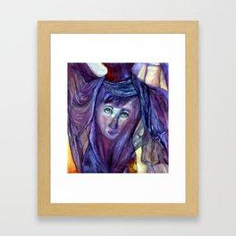 Helen/Salome Framed Art Print
