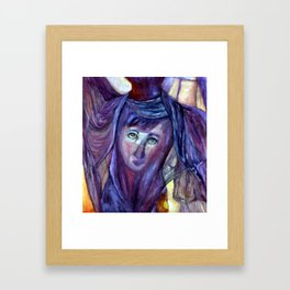 Helen/Salome Framed Art Print
