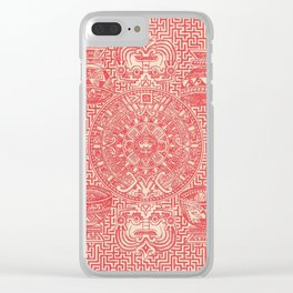 Forty-three Clear iPhone Case