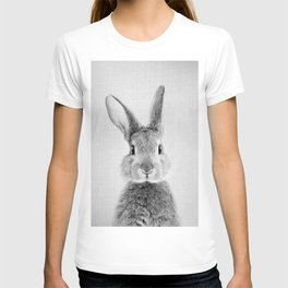 Rabbit - Black & White T-shirt