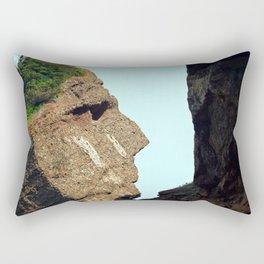 Indian Head Rock Rectangular Pillow
