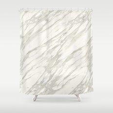 Calacatta gold Shower Curtain