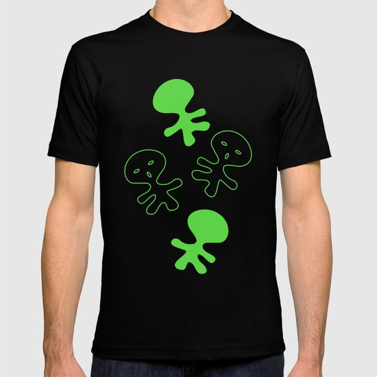 Aliens-Green T-shirt
