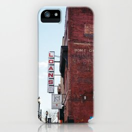 Loans iPhone Case