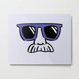 Too Cool (blue violet) Metal Print