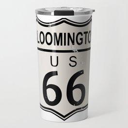 Bloomington Route 66 Travel Mug
