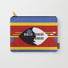 Swaziland country flag Carry-All Pouch